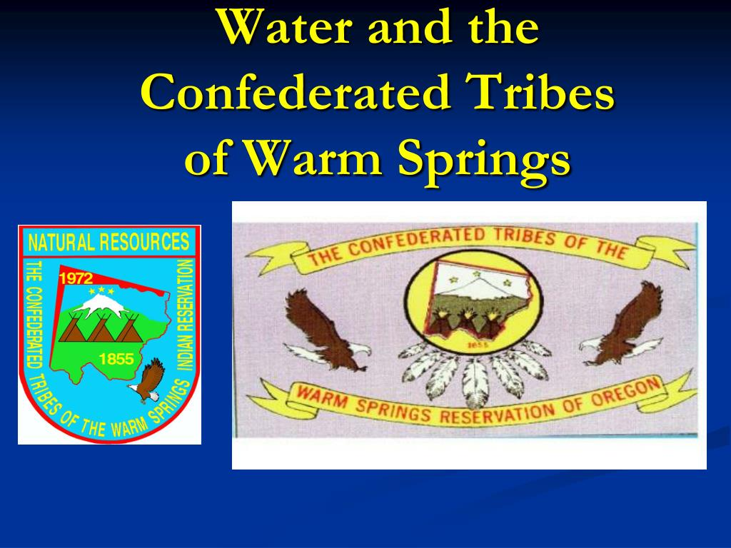 water and the confederated tribes of warm springs l.