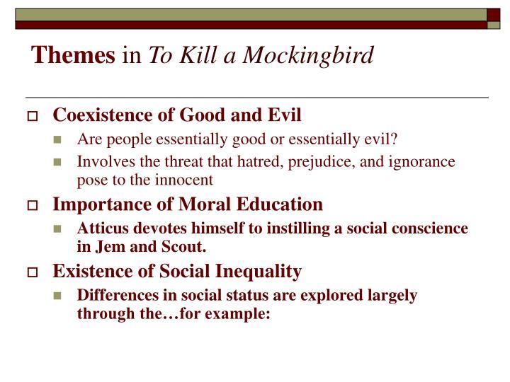 to kill a mockingbird education theme