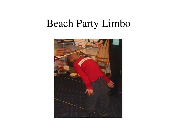 Beach Party Limbo