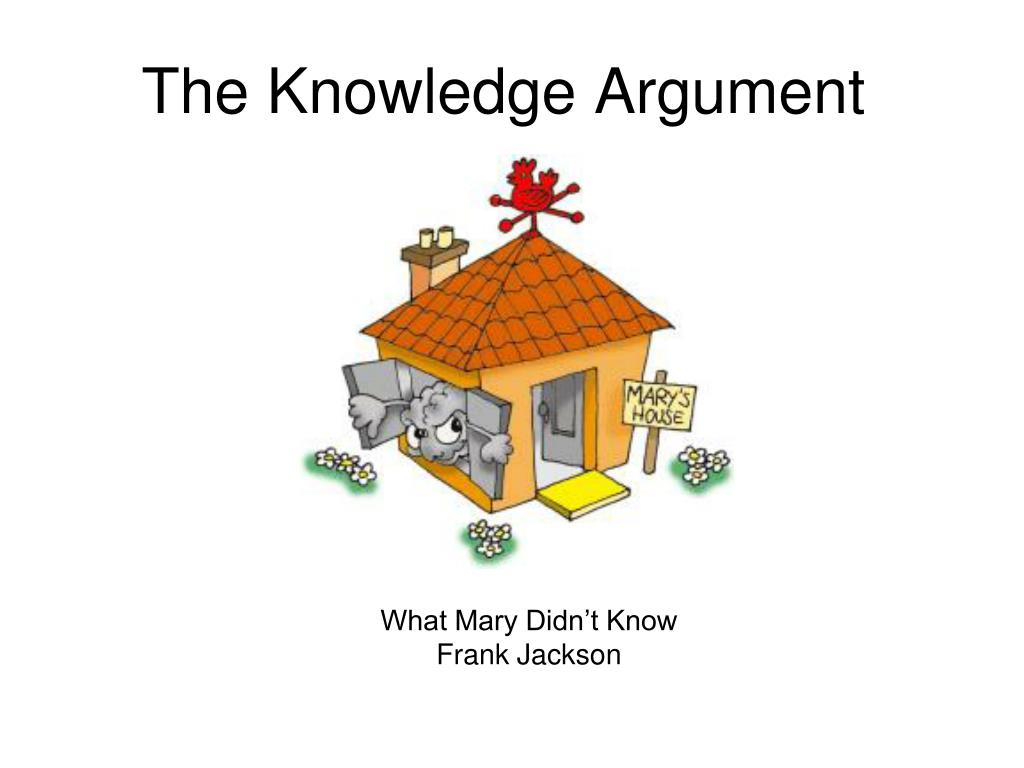 the knowledge argument l.