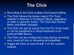 the click