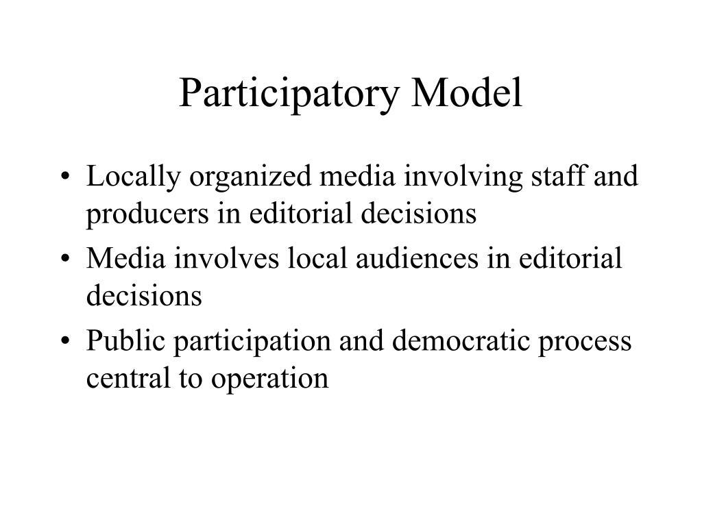 Participatory Model