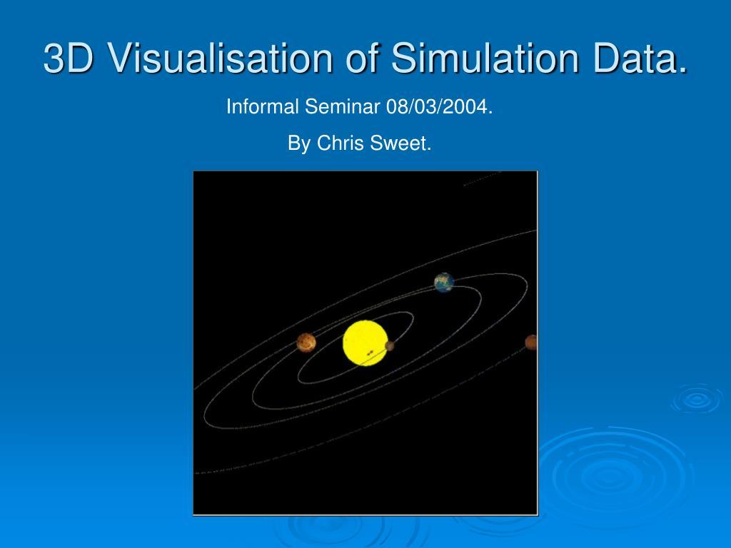 Informal Seminar 08/03/2004.