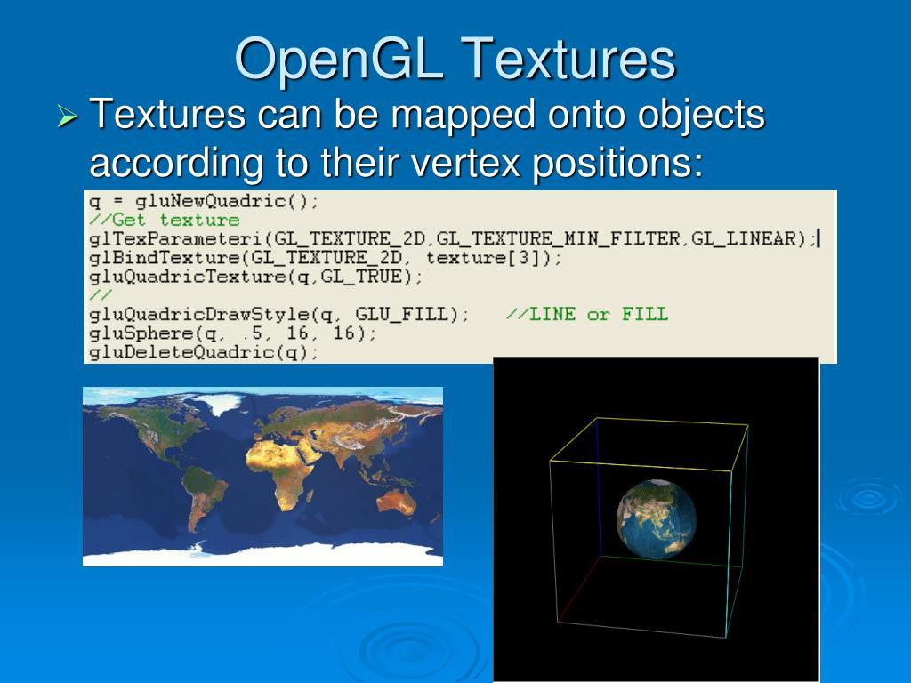 OpenGL Textures