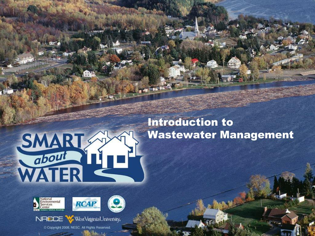 introduction to wastewater management l.