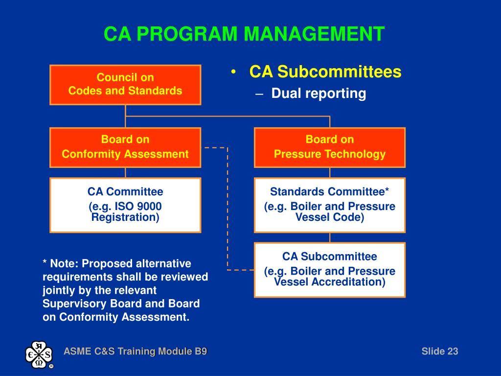 CA PROGRAM MANAGEMENT