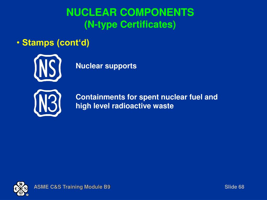 Nuclear supports