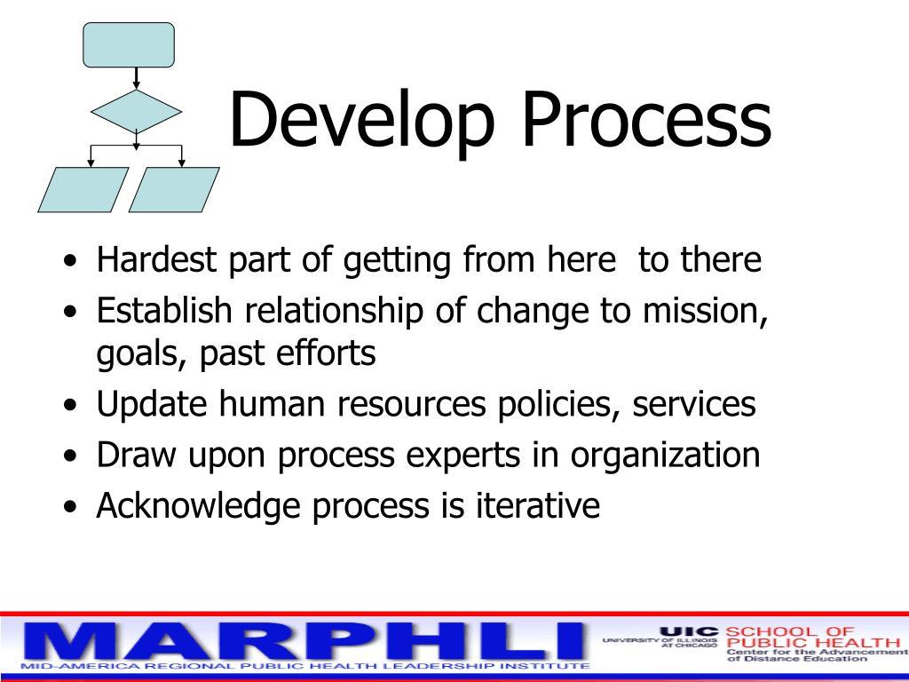 Develop Process
