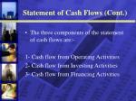 statement of cash flows cont12