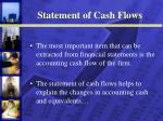 statement of cash flows10