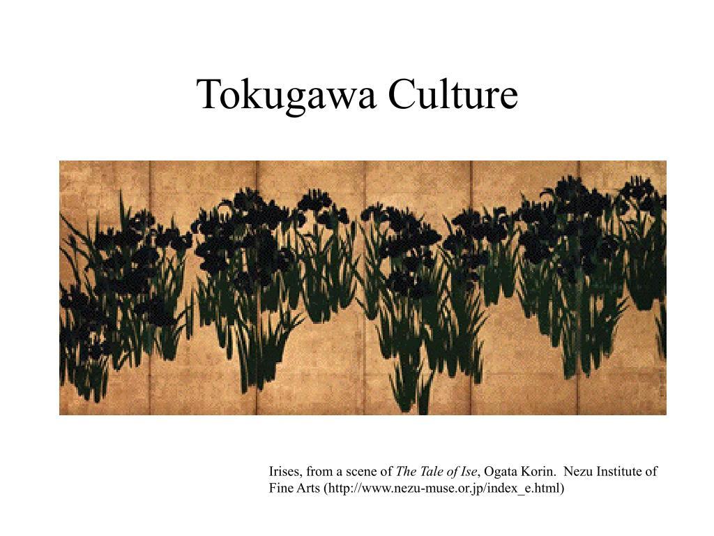 tokugawa culture l.