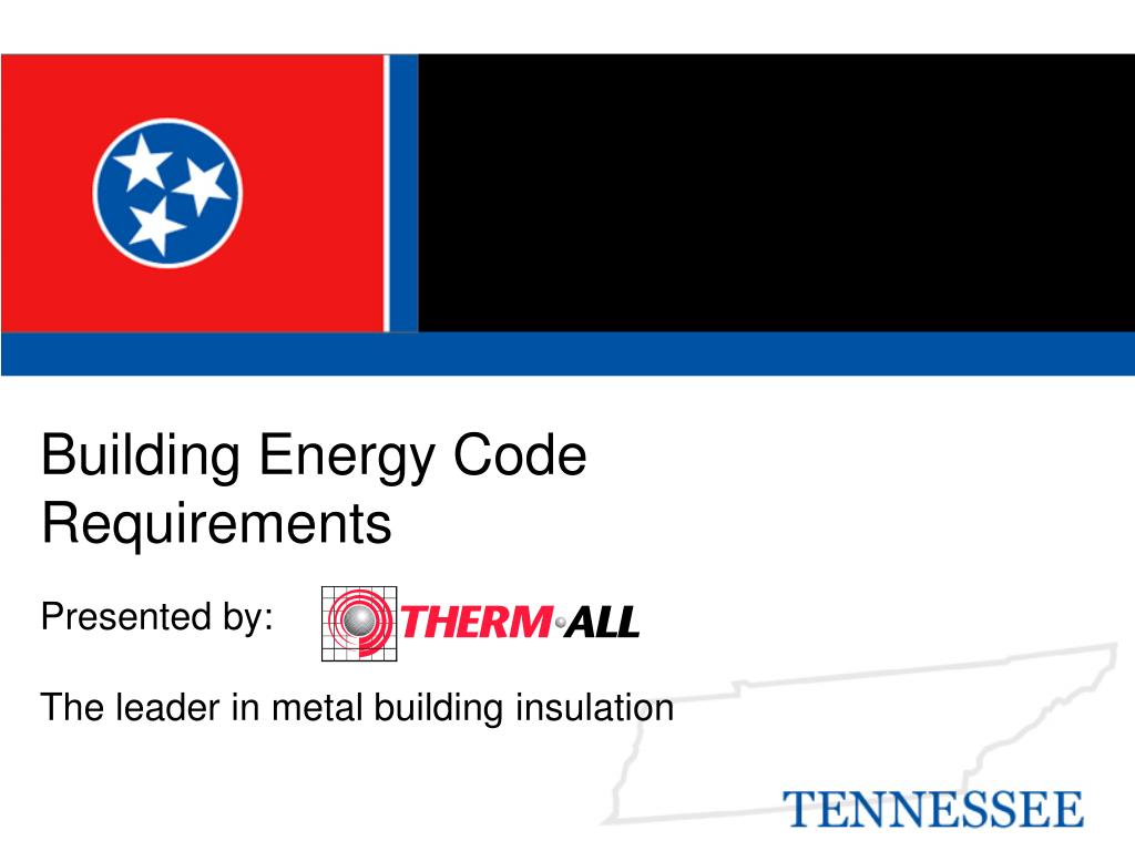 building energy code requirements l.
