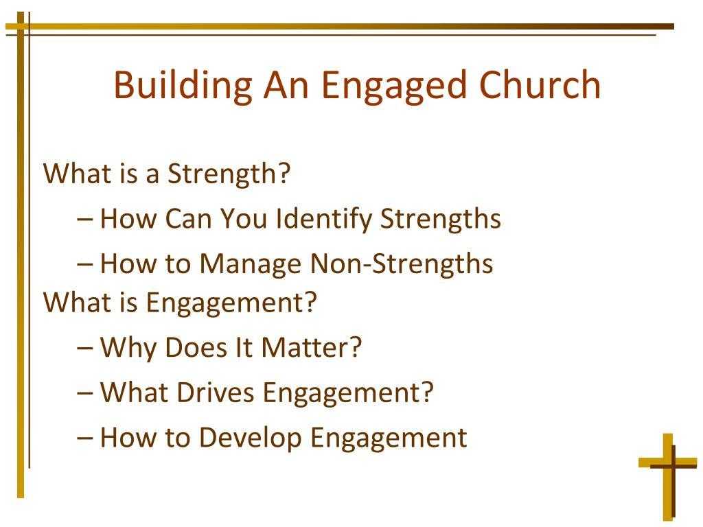 Building An Engaged Church