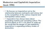 modernism and capitalistic imperialism book 1990
