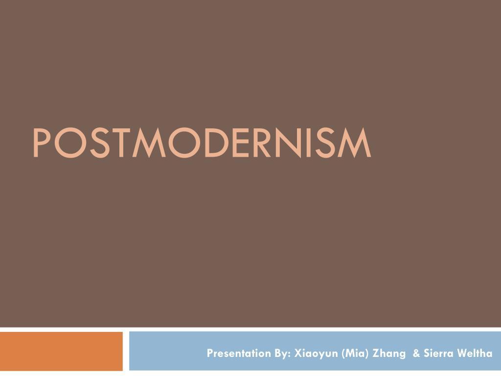 postmodernism l.