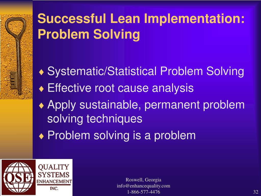 analysing problems with the implementation of
