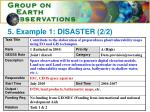 5 example 1 disaster 2 2