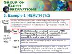 5 example 2 health 1 2