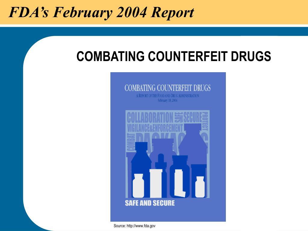 FDA's February 2004 Report