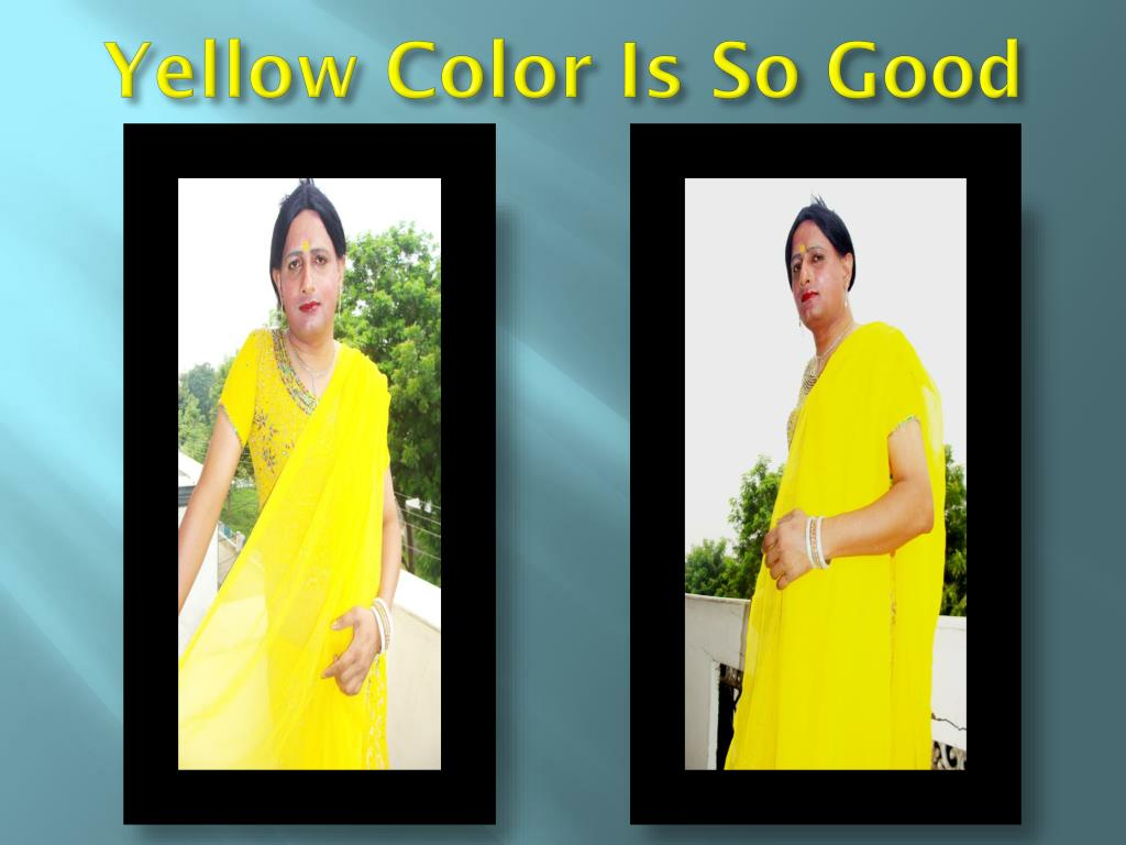 Yellow Color Is So Good