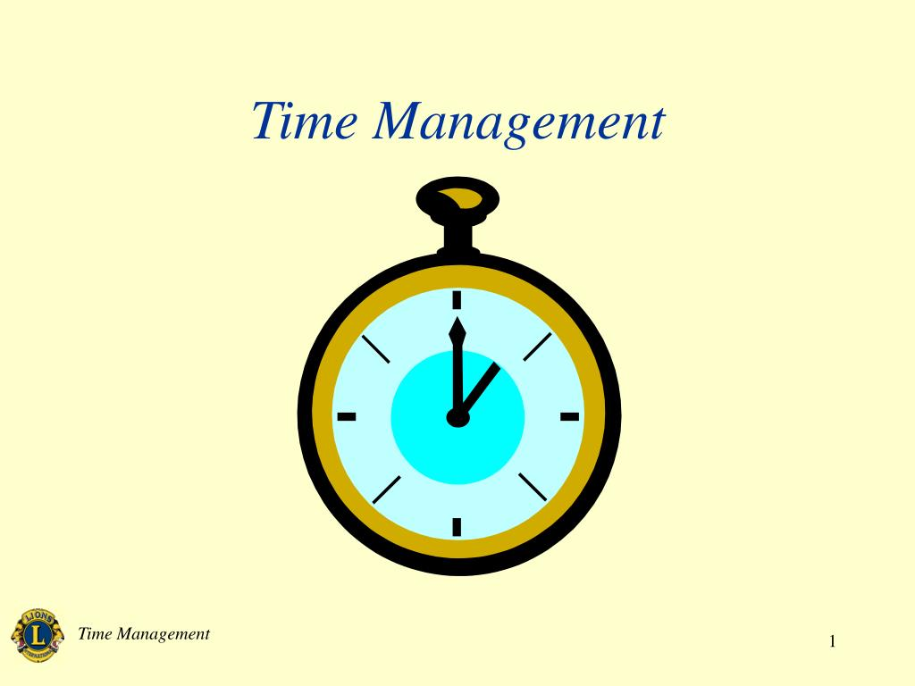 time management l.