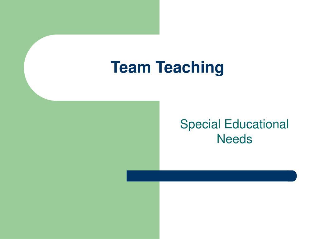 team teaching l.