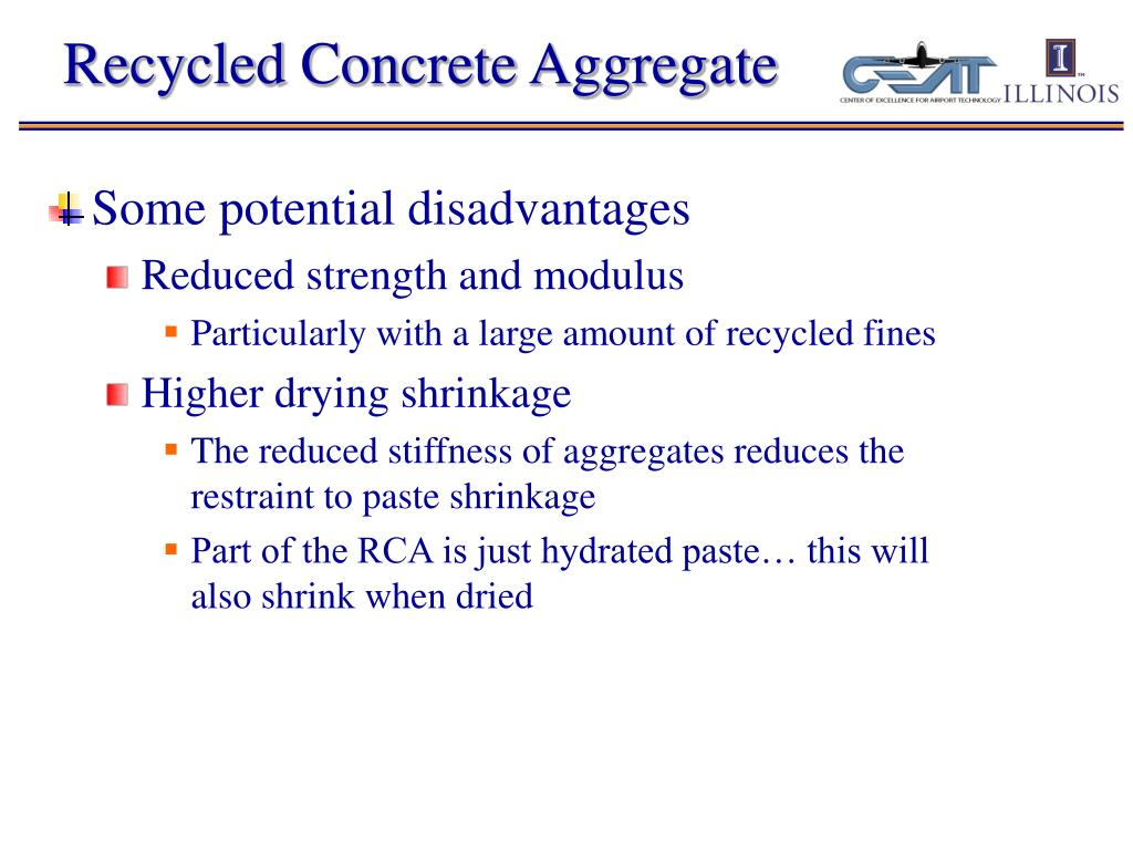 Recycled Concrete Aggregate