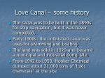 love canal some history