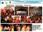 accomplishments pasko sa sugbu sa fuente community outreach program for cebu city street children