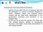 awareness and educational program