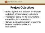 project objectives9