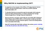 why nacha is implementing iat