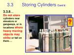 3 3 storing cylinders cont d