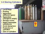3 3 storing cylinders