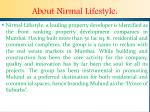 about nirmal lifestyle