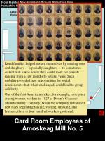 card room employees of amoskeag mill no 5