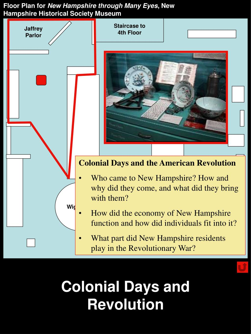 Colonial Days and Revolution