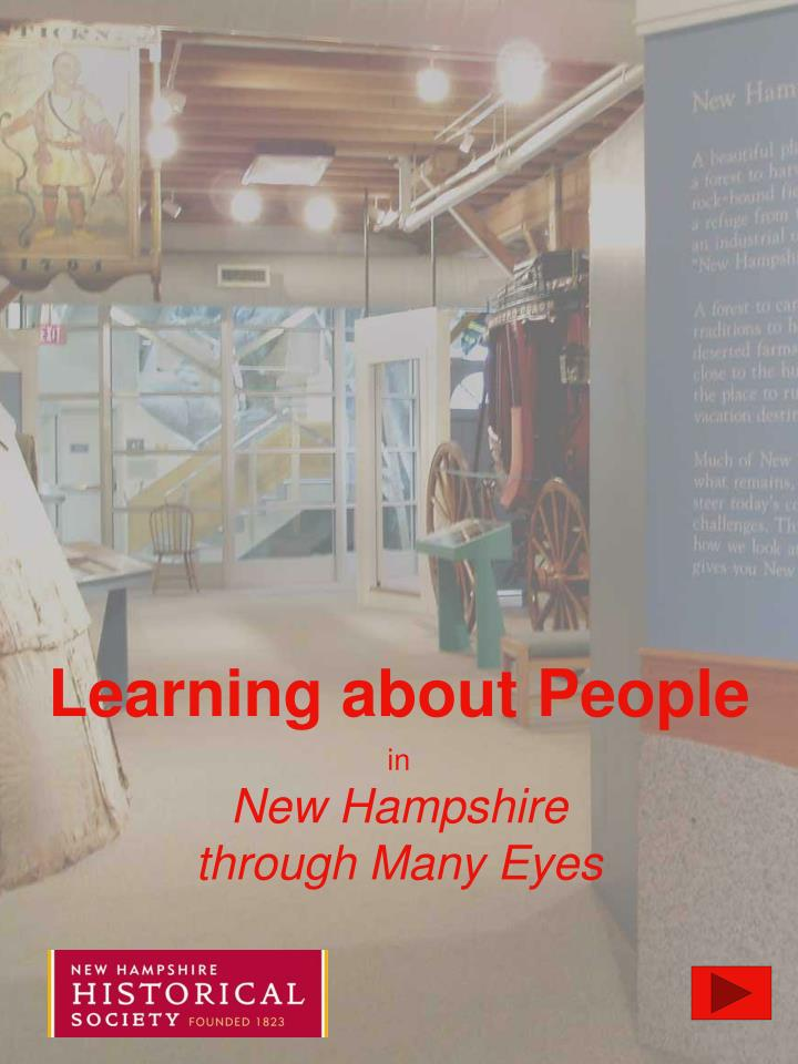 Learning about people