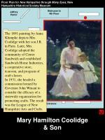 mary hamilton coolidge son