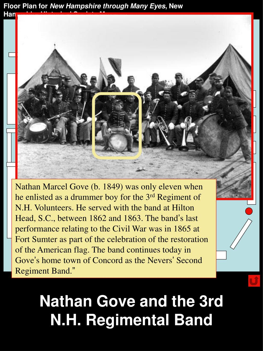Nathan Gove and the 3rd N.H. Regimental Band