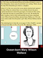 ocean born mary wilson wallace