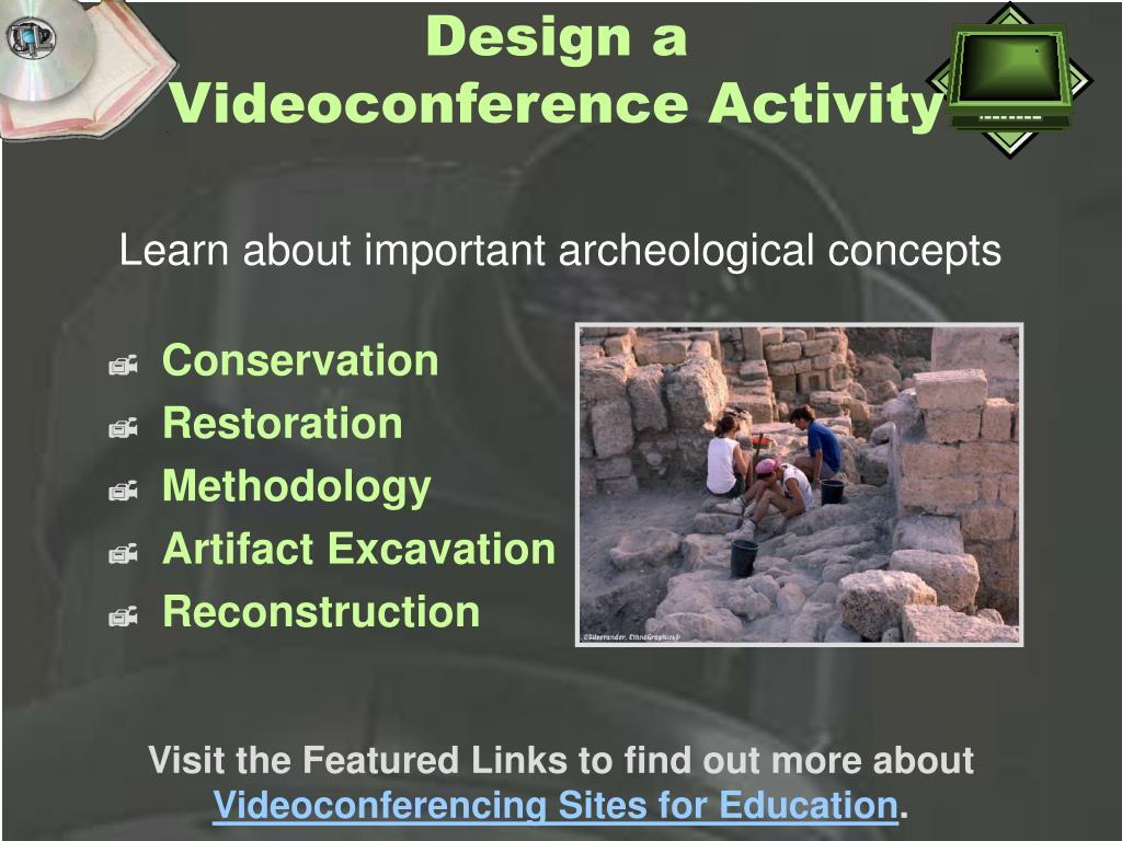 Design a Videoconference Activity