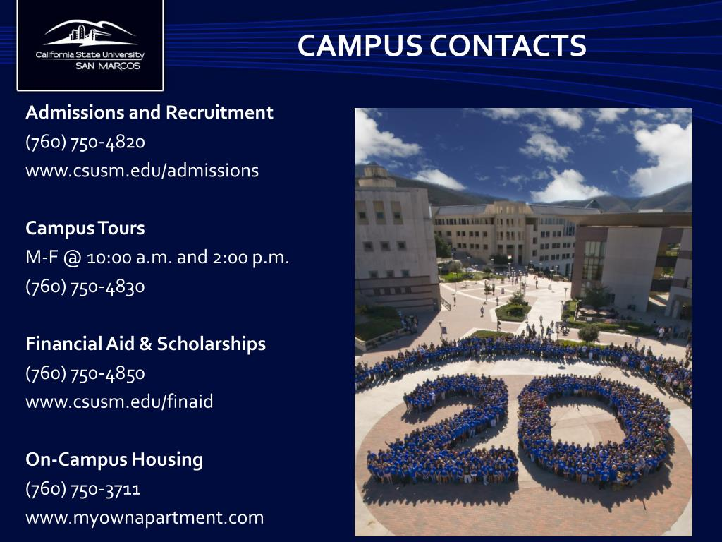 Campus Contacts