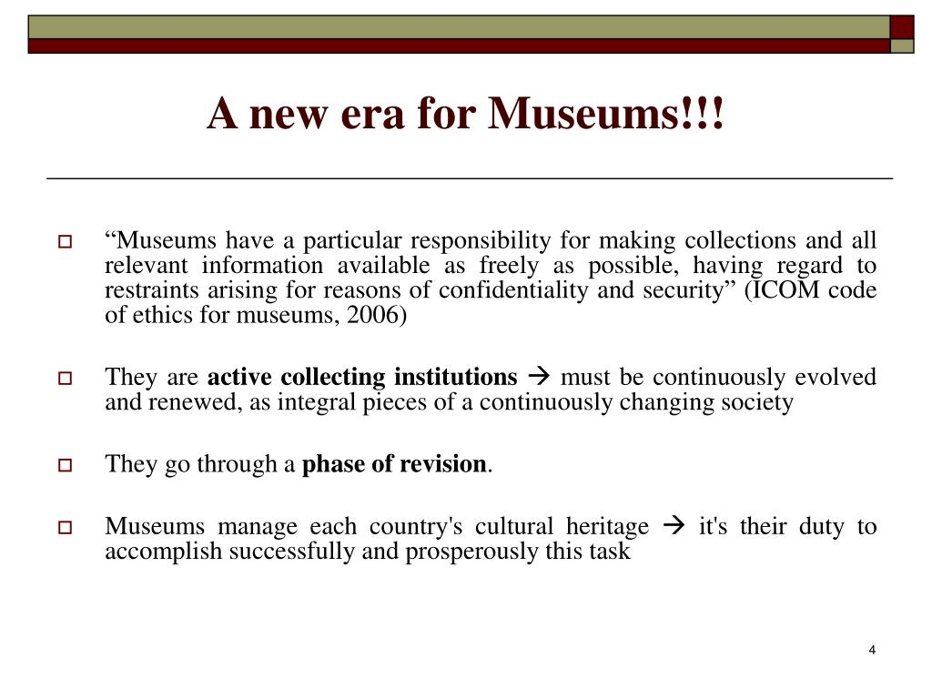 A new era for Museums!!!