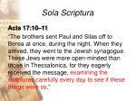 sola scriptura21