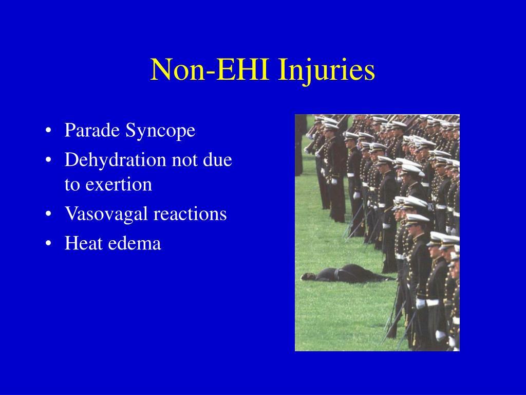 Non-EHI Injuries