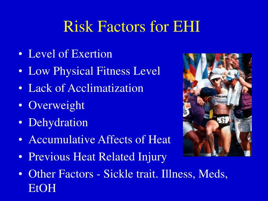 Risk Factors for EHI