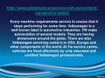 http www platinumcarservice com au content vw service sydny