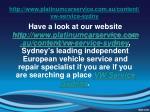 http www platinumcarservice com au content vw service sydny5