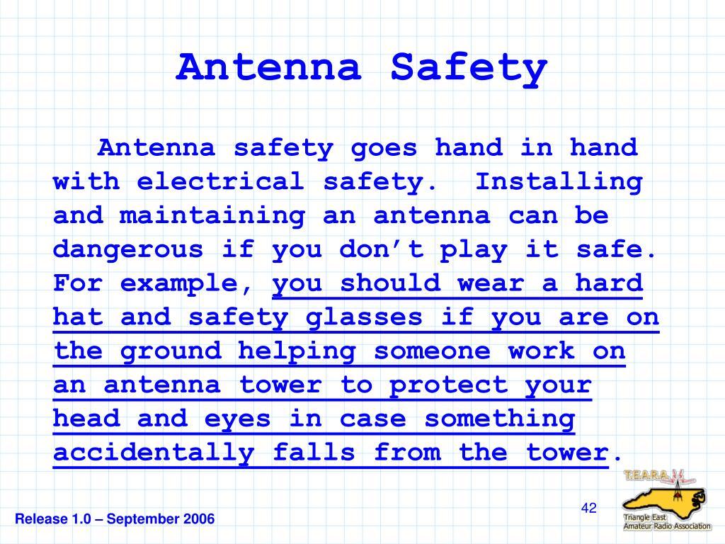 Antenna Safety